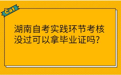 湖南自考实践环节考核