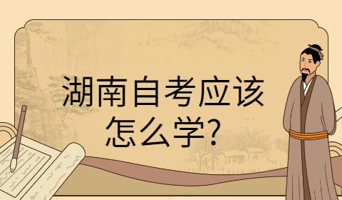 湖南成人自考要如何复习